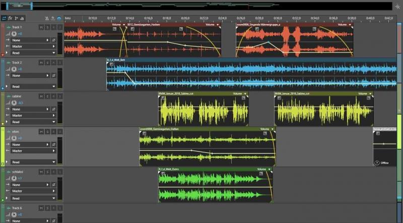 audio bearbeitung mit audition